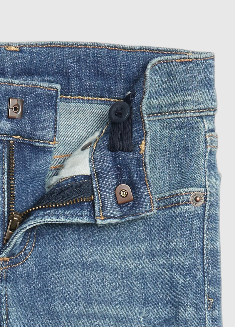 GAP jeans with abrasions image number null