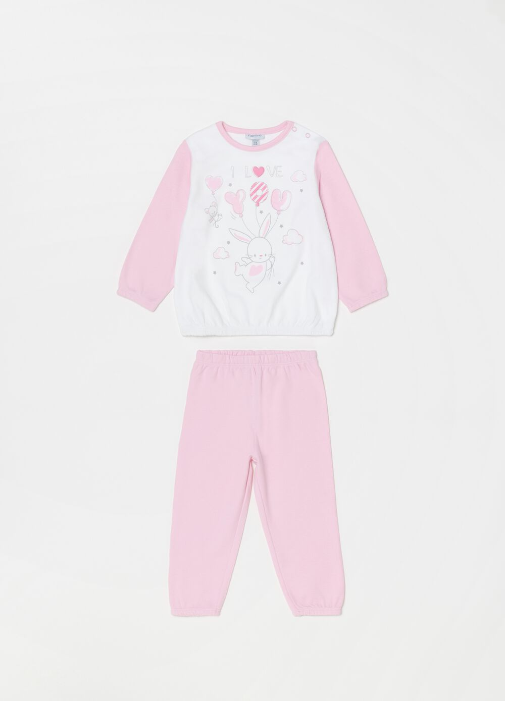 100% organic cotton pyjamas with print