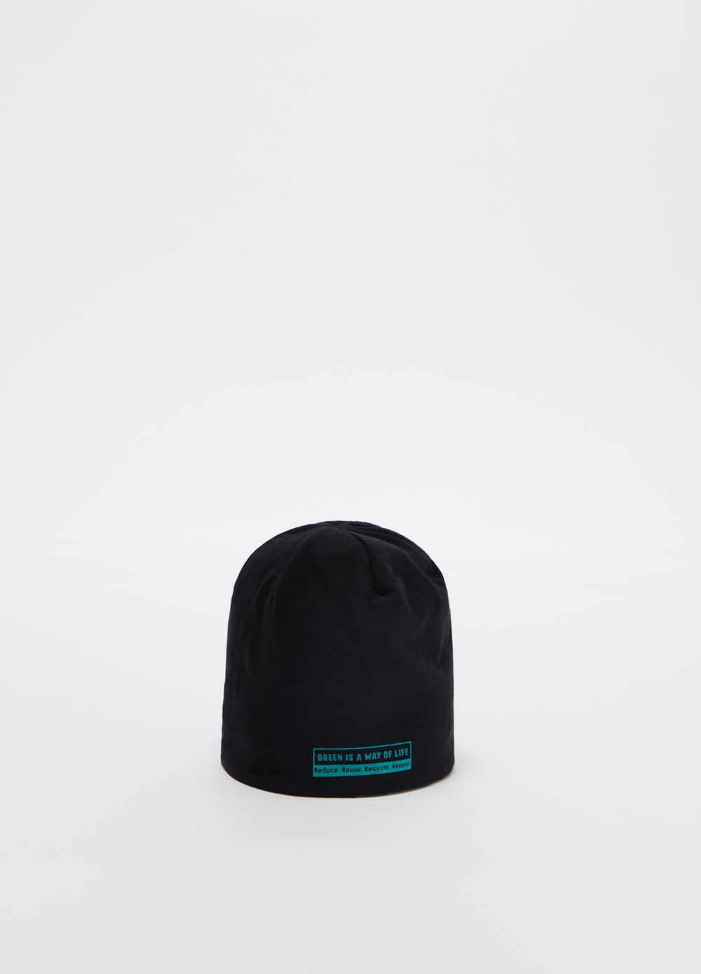 Double-sided printed jersey cap