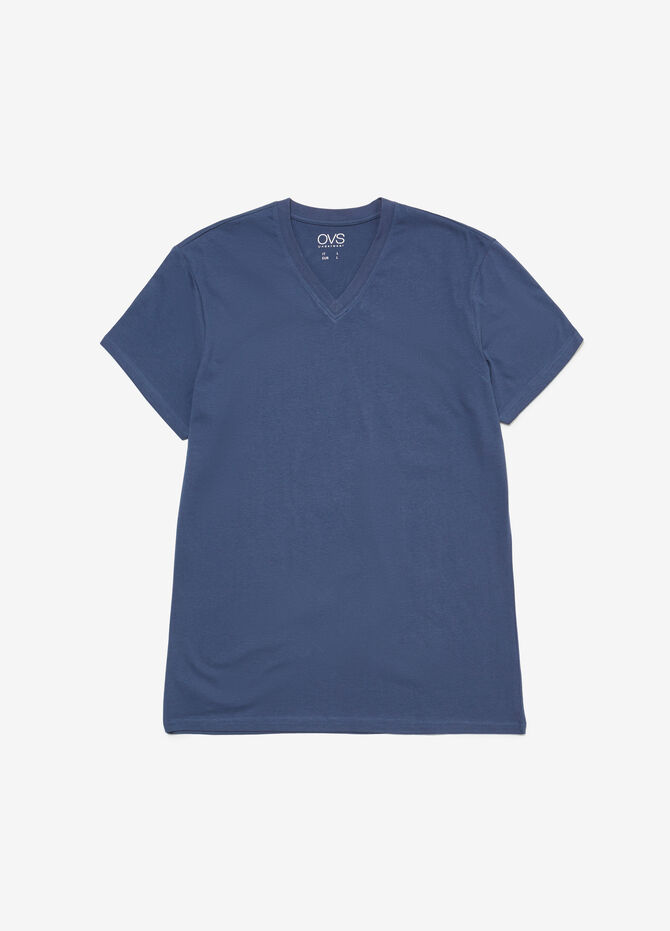 V-neck BCI cotton undershirt