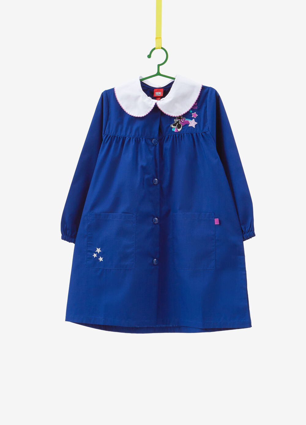 Cotton apron with Minnie Mouse patch