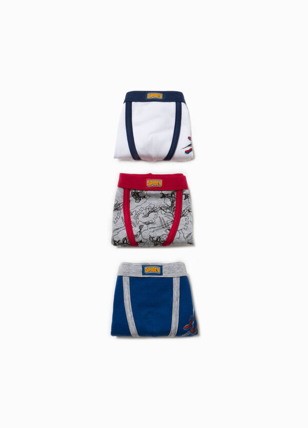 Set tre boxer in cotone Spiderman | OVS