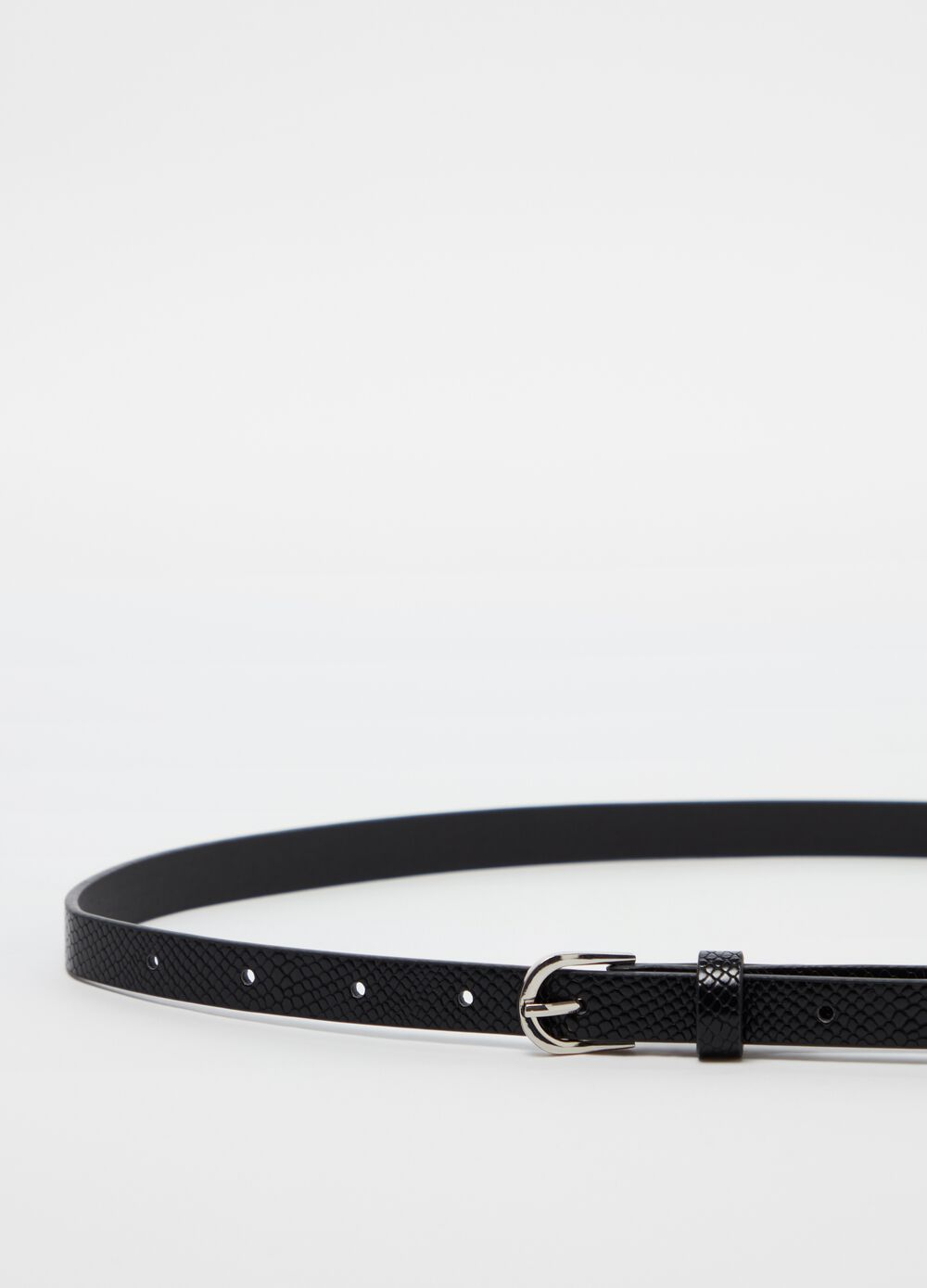 Three-pack braided and animal patterned belts