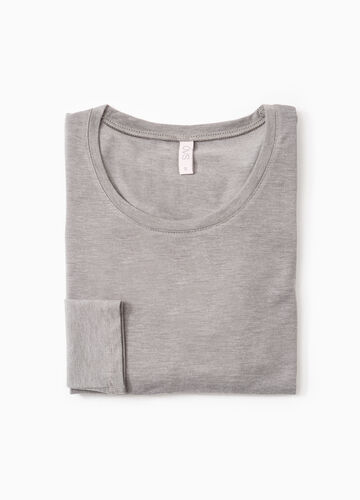Stretch undershirt with long sleeves