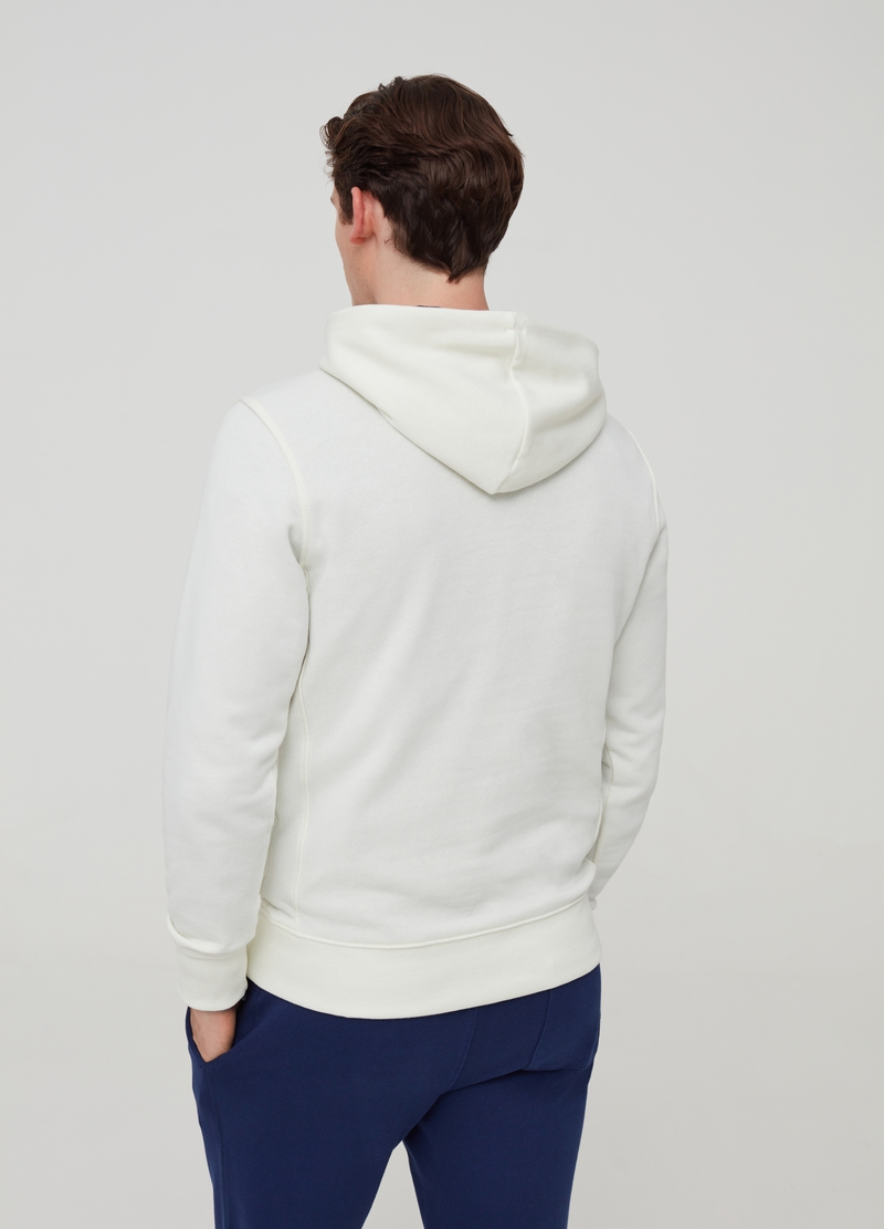 Sweatshirt with hood and pockets image number null