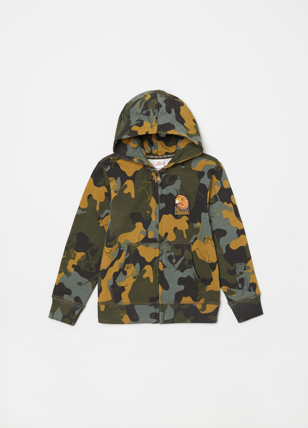 Disney The Lion King camouflage sweatshirt