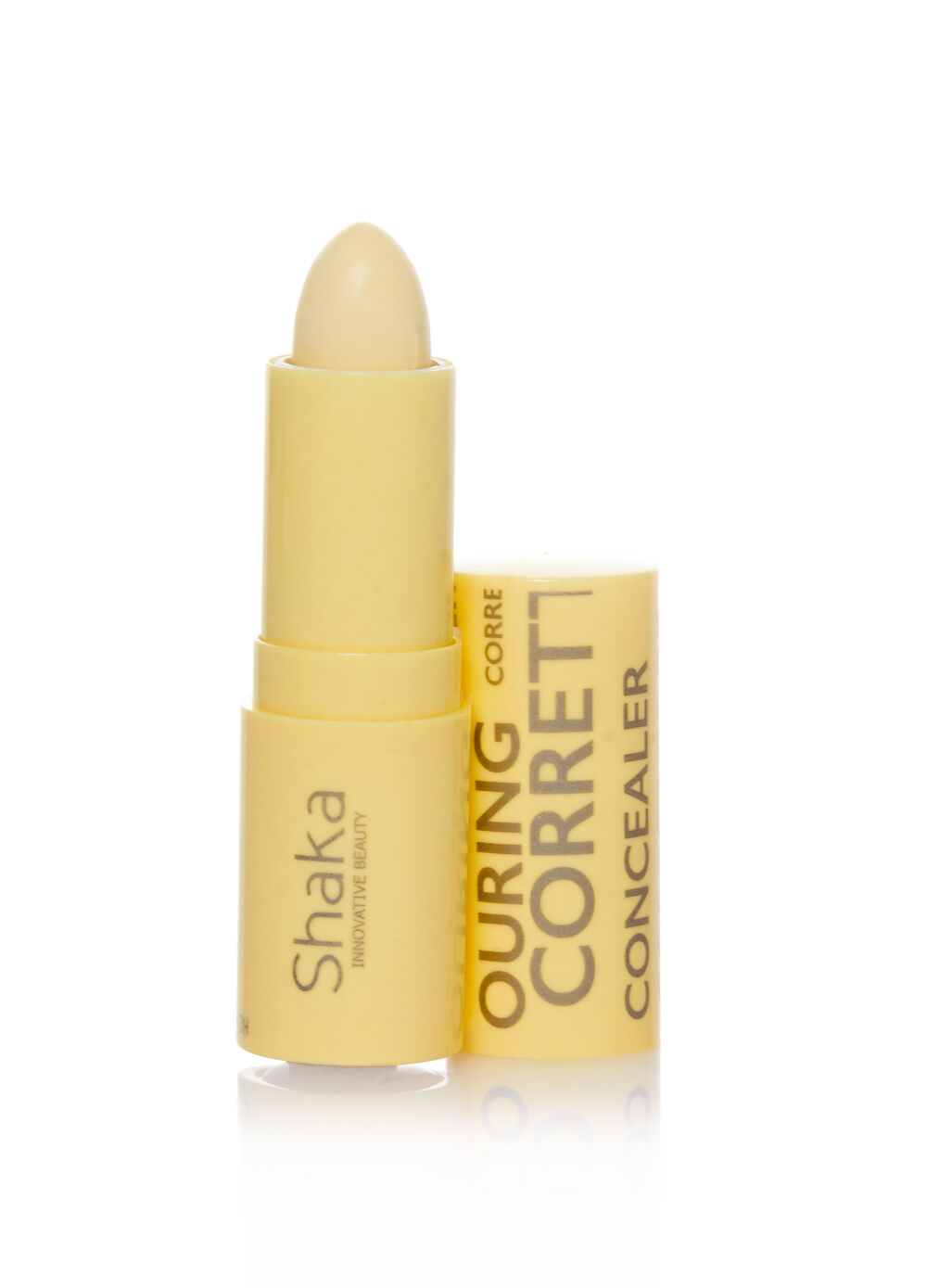 Discoloured facial concealer