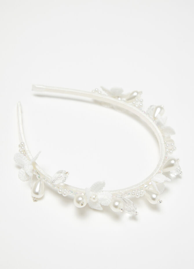 ***Hairband with beads
