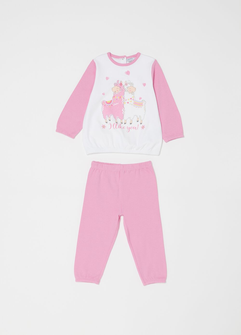 100% organic cotton pyjamas with sheep print