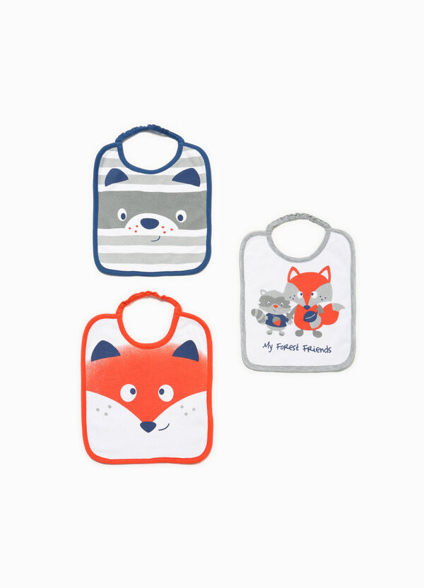 Three-pack bibs with animal print | OVS