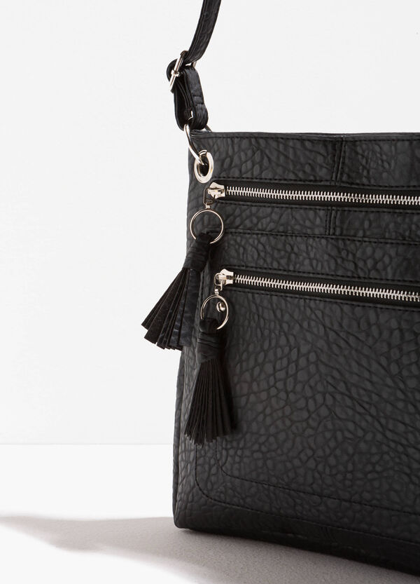 Shoulder bag with textured effect | OVS