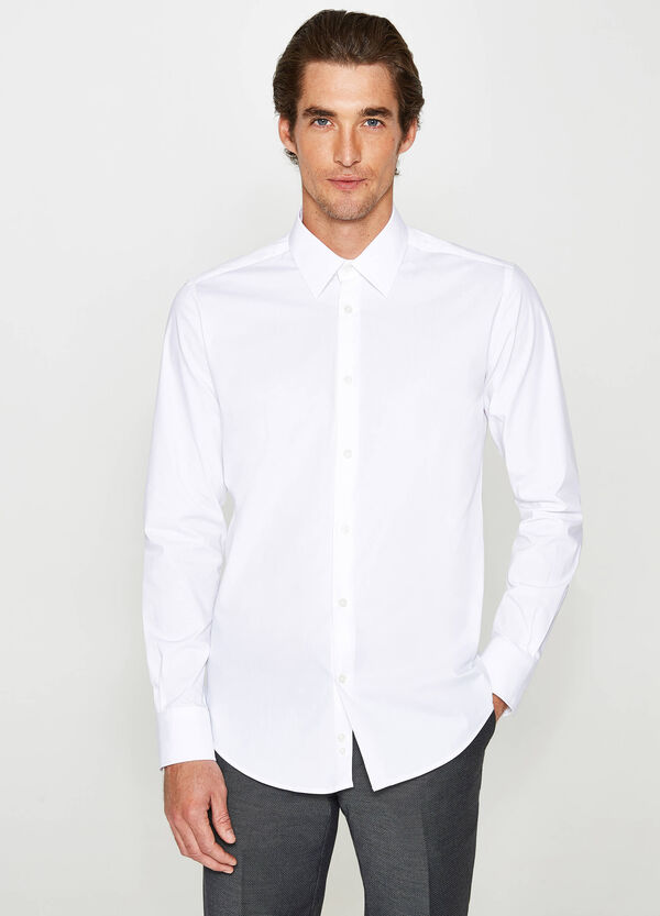 Slim-fit formal shirt in cotton | OVS