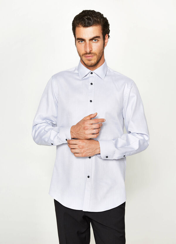 Camicia formale regular fit cotone | OVS