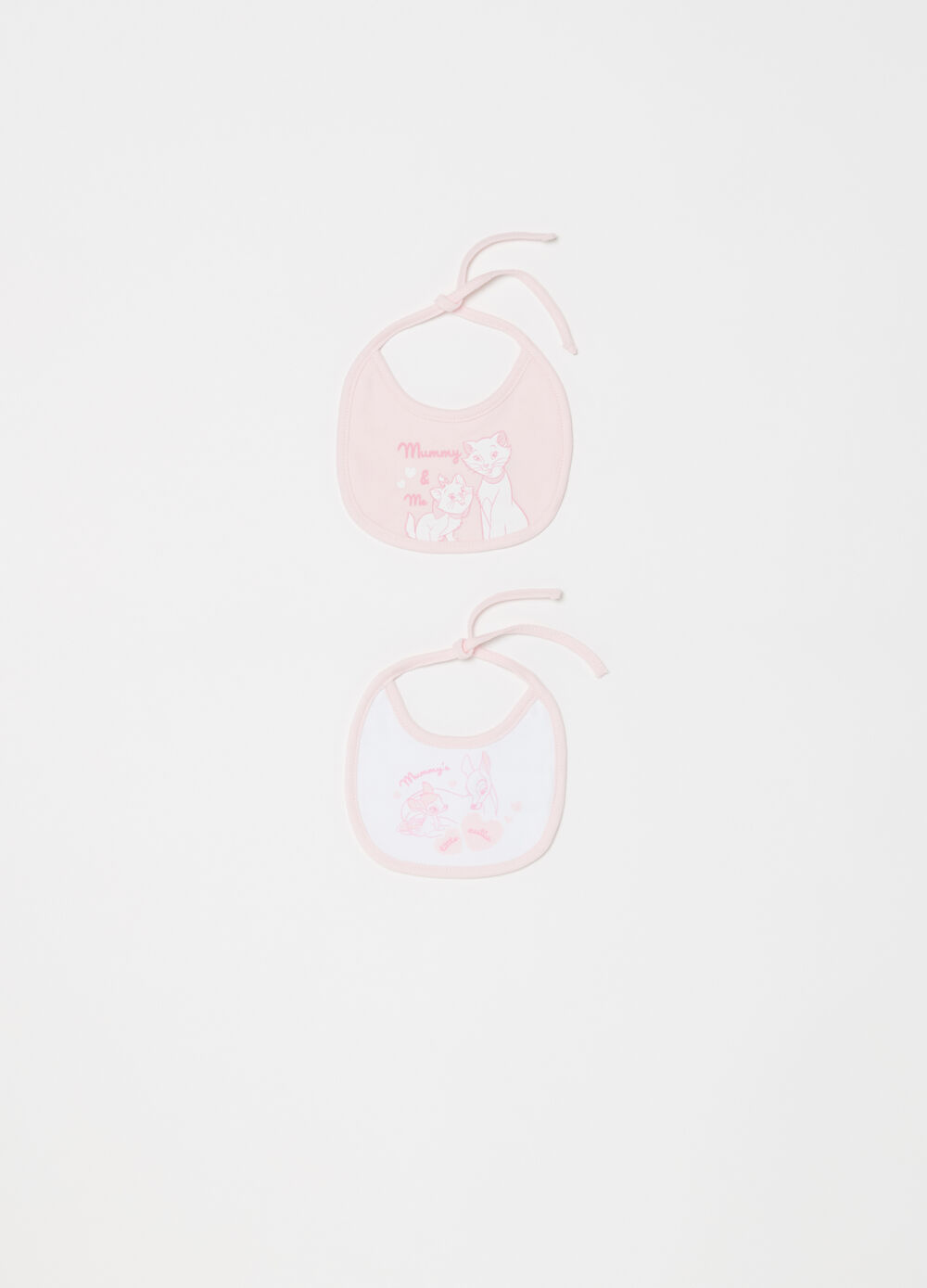 Two-pack Disney bibs in BCI cotton
