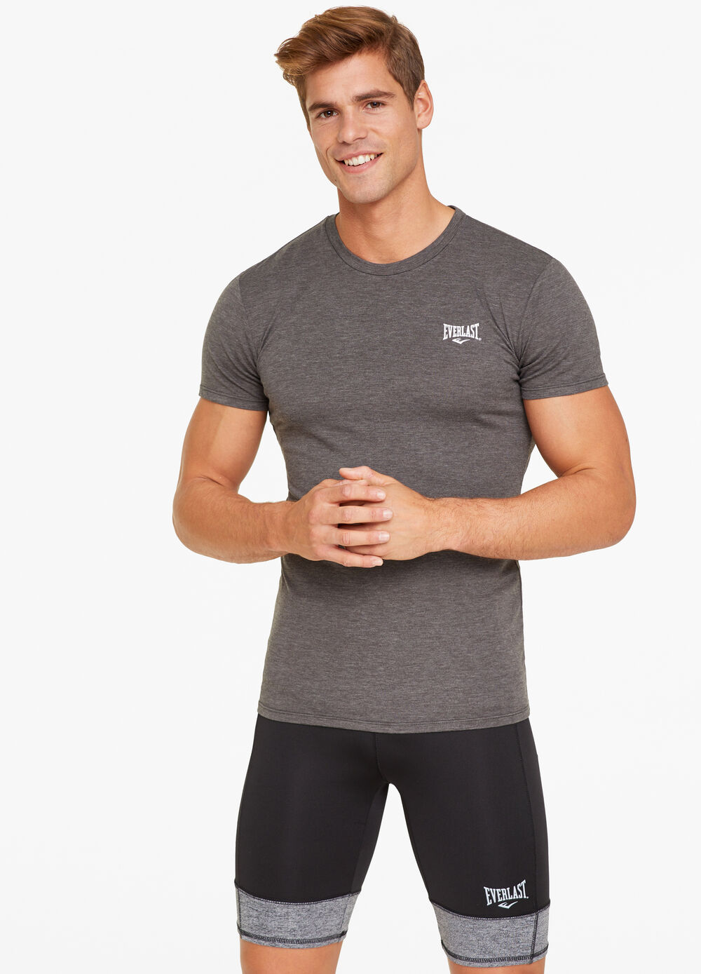 Everlast stretch T-shirt with crew neck