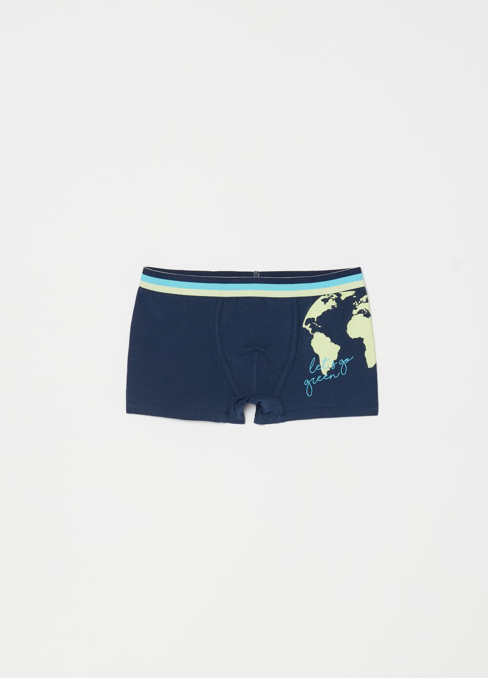 Organic cotton boxers with print