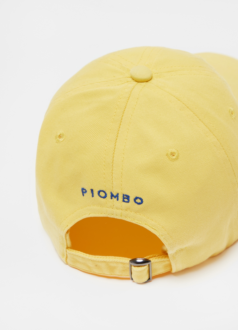 PIOMBO baseball cap with embroidery image number null