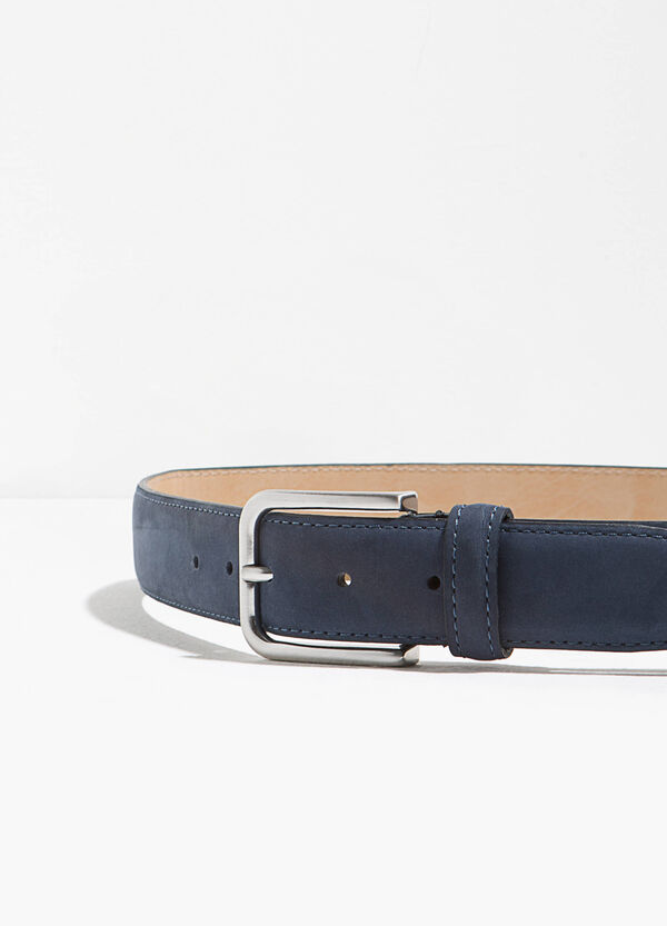 Suede leather belt | OVS