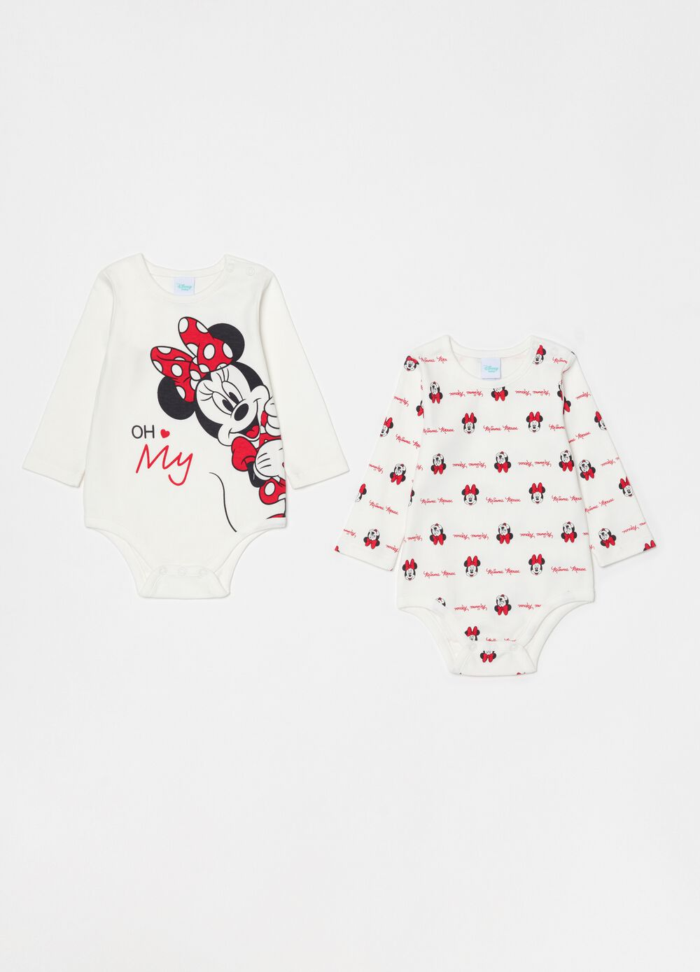 Set due body puro cotone Disney Minnie