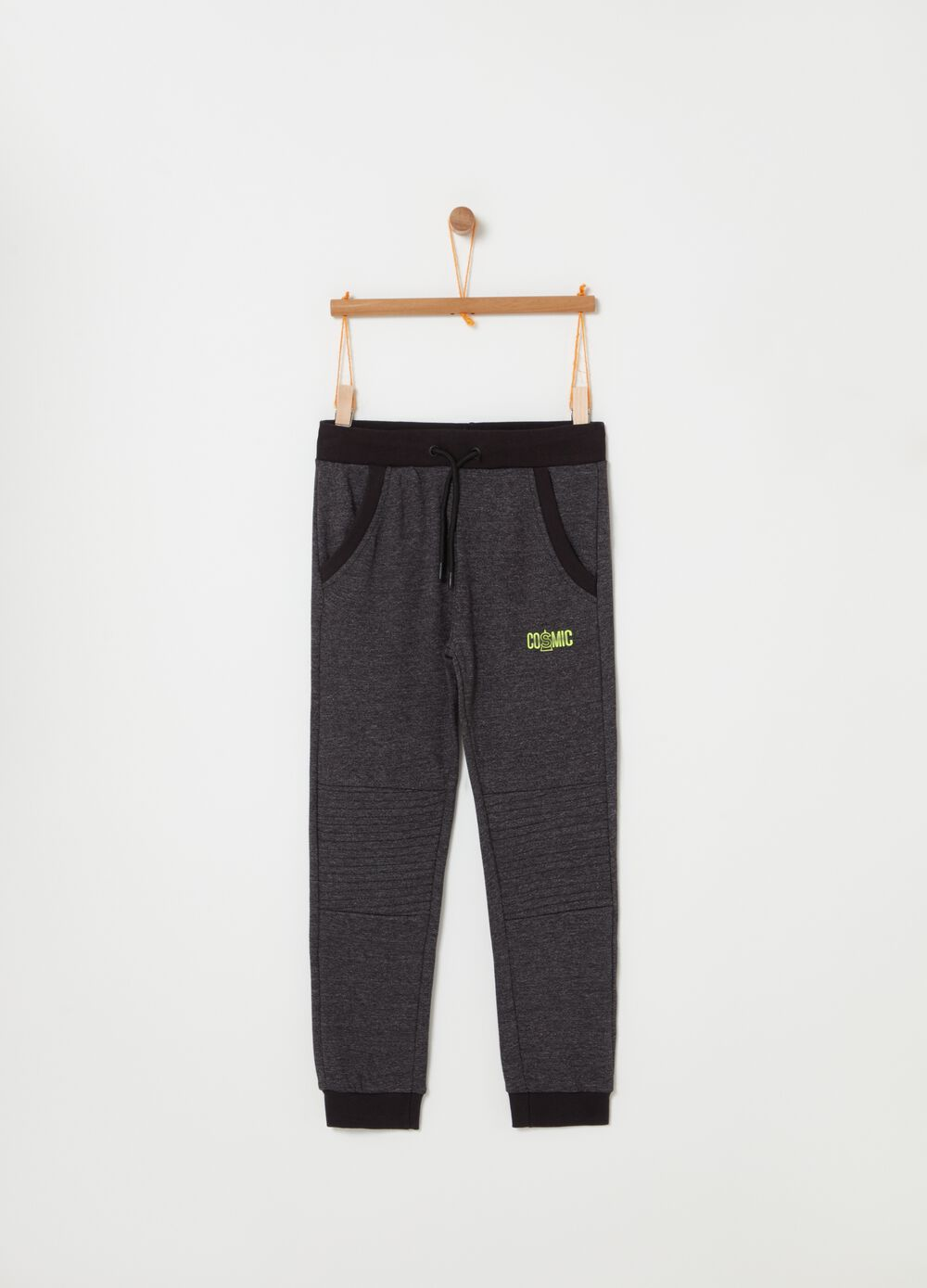 Jogger in French Terry con coulisse