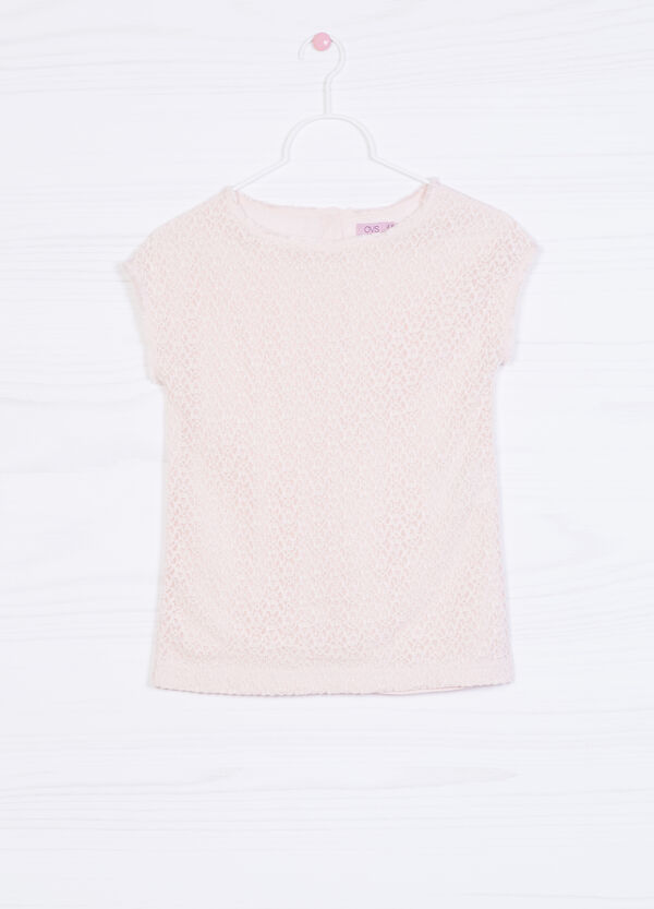 Solid colour stretch T-shirt   OVS