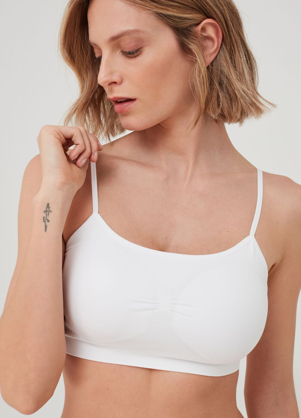 The One - Natural effect bralette