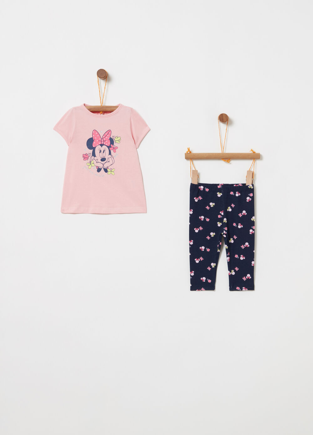 Disney Baby Minnie Mouse cotton jogging set