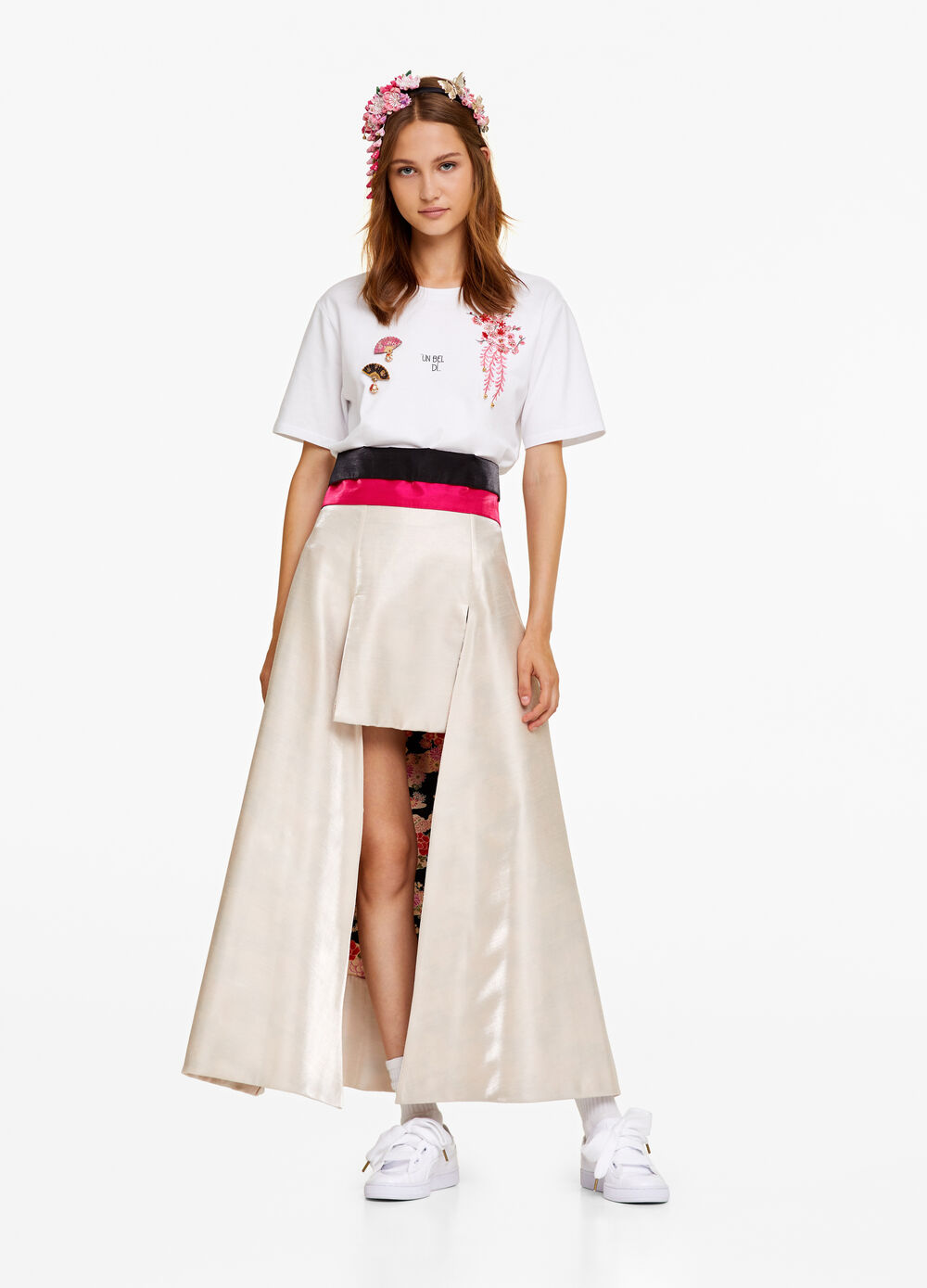 OVS Arts of Italy Madama Butterfly skirt