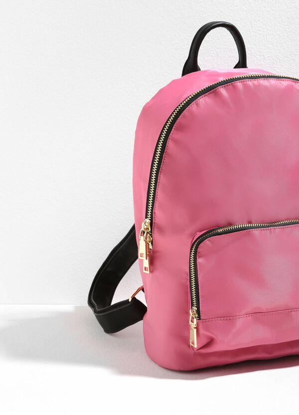 Solid colour backpack with zip | OVS
