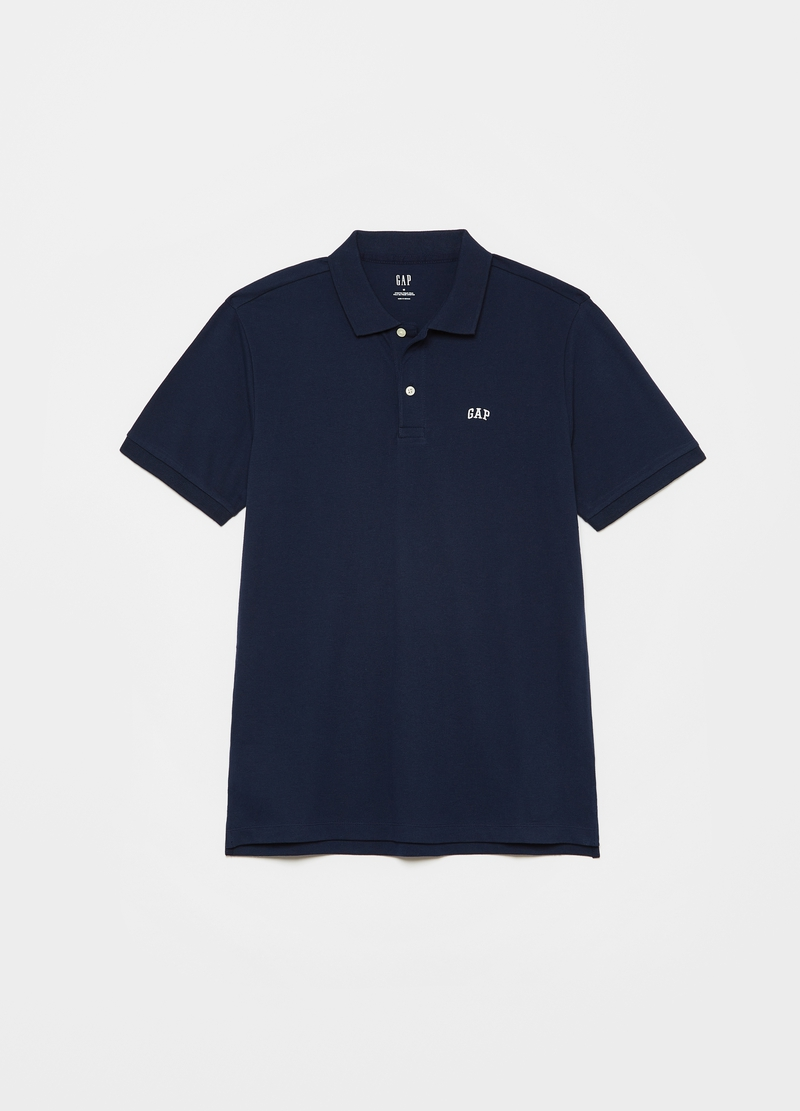 GAP two-pack polo shirts in piquet with logo embroidery image number null