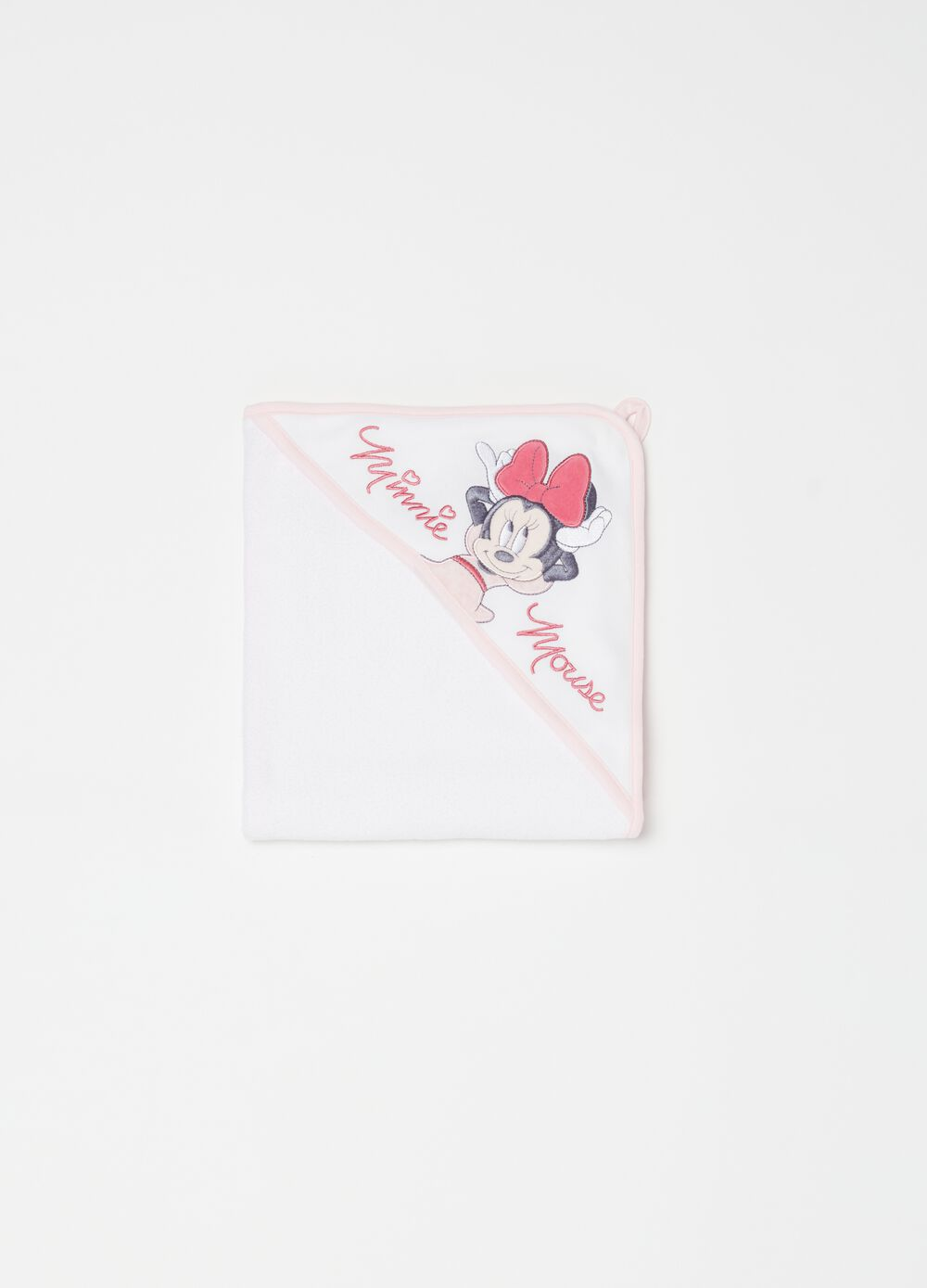 Bathrobe with Disney Minnie Mouse embroidery