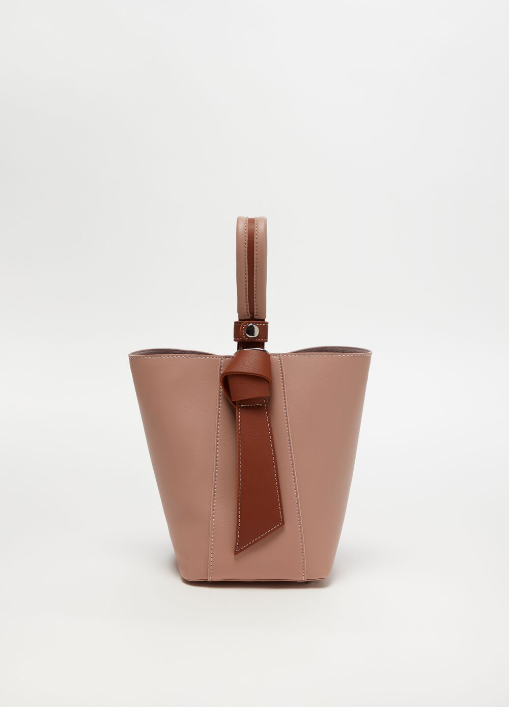 Solid colour tote bag