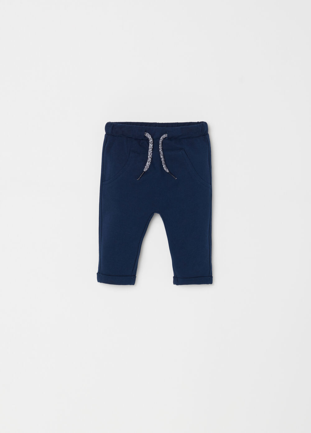 100% organic cotton trousers with pouch pocket