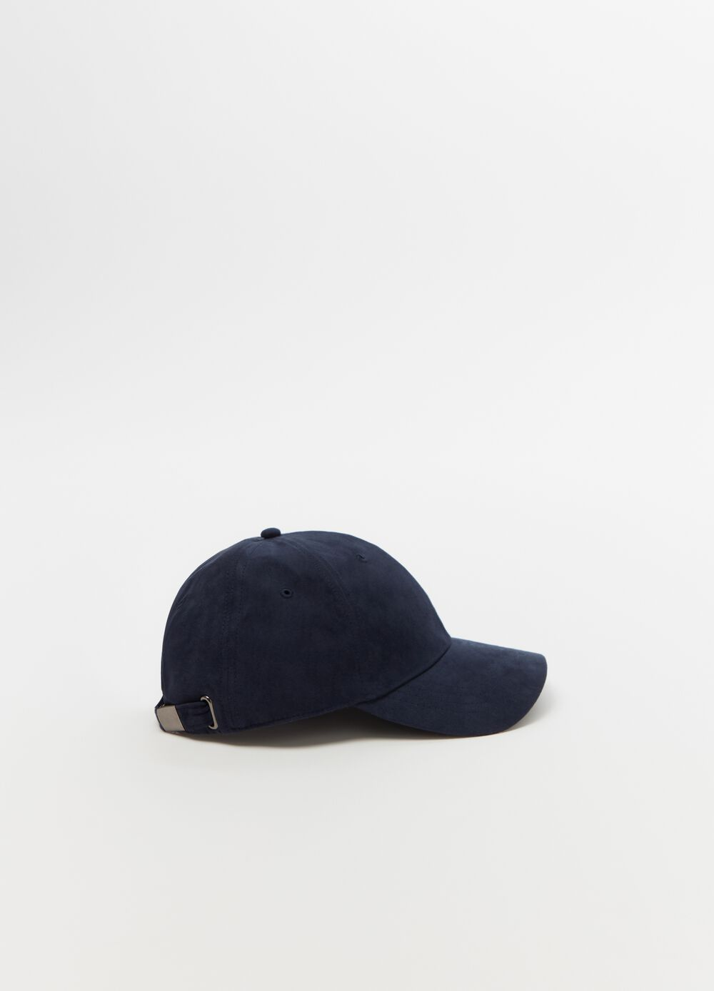Baseball cap with strap