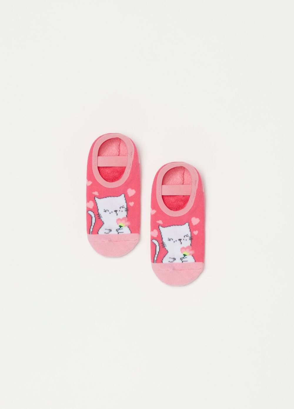 Printed slipper socks