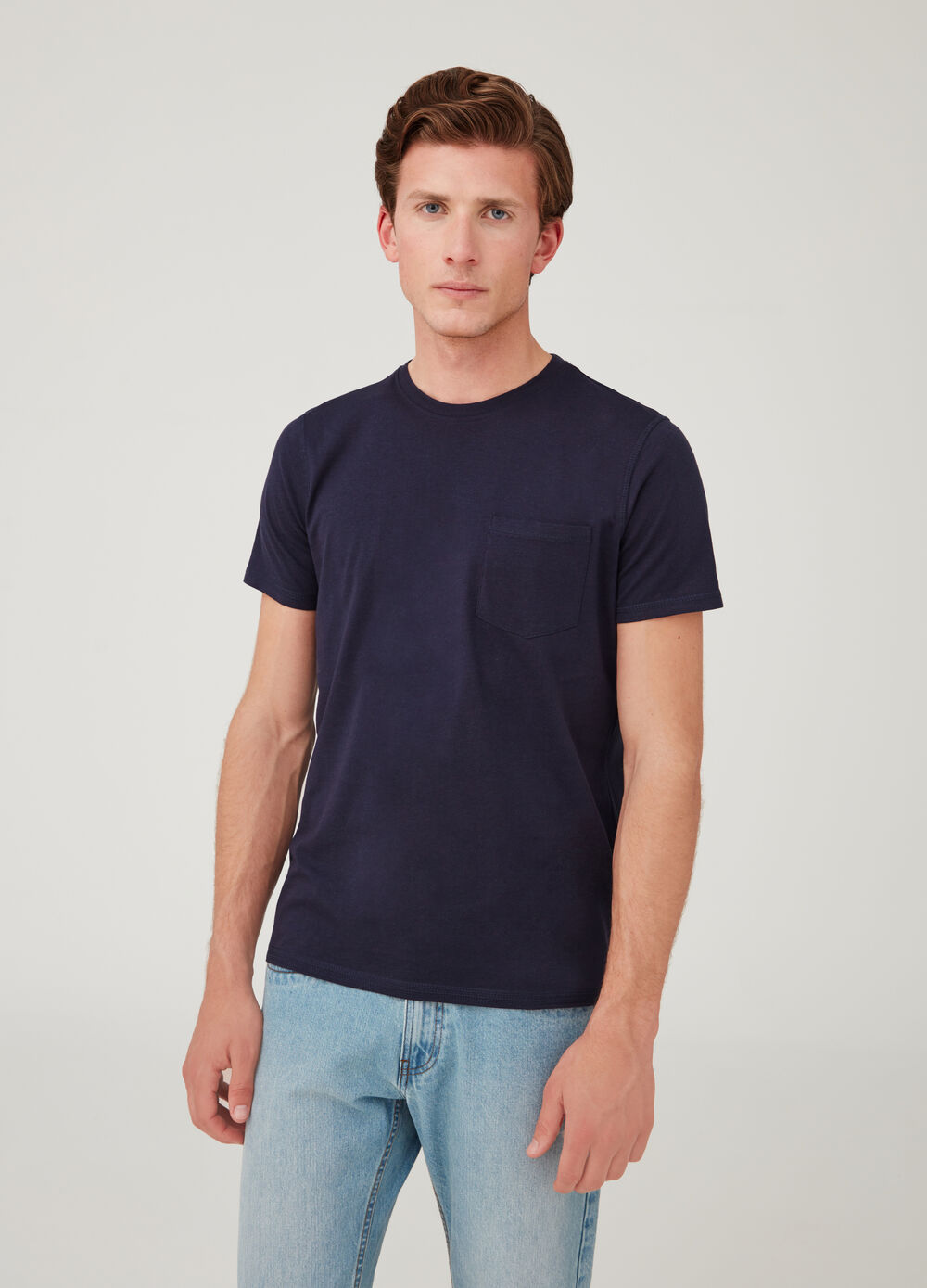 Biocotton T-shirt with small packet