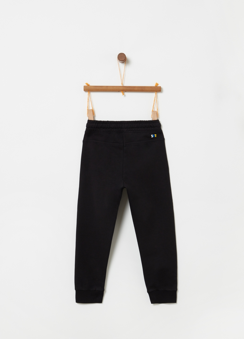 Trousers with pouch pocket and drawstring image number null