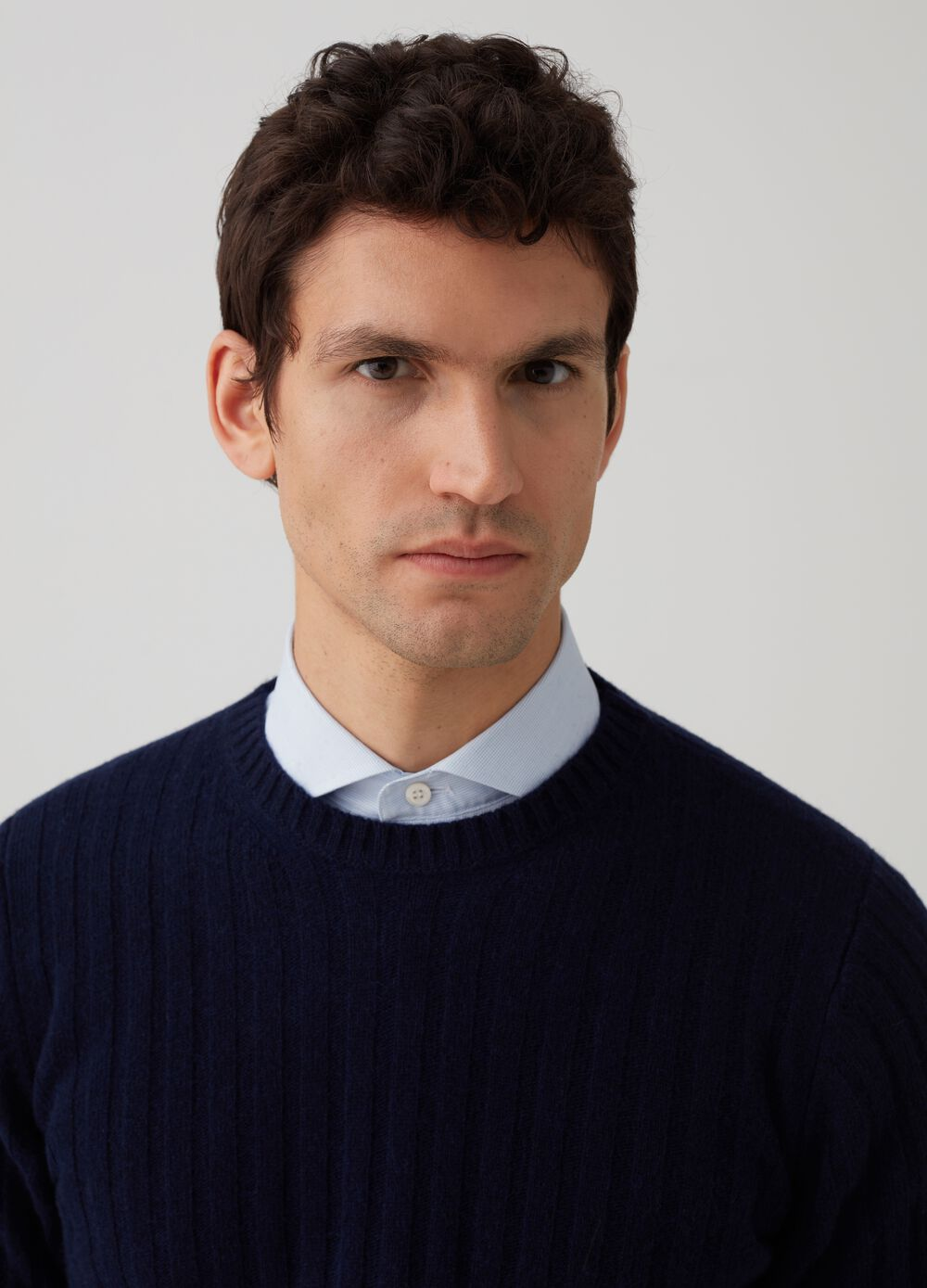 Rumford knitted pullover with wool