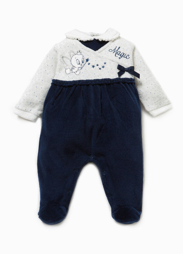 Onesie with feet, pattern and Tweety Pie embroidery | OVS