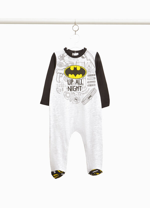 Batman sleepsuit in 100% cotton