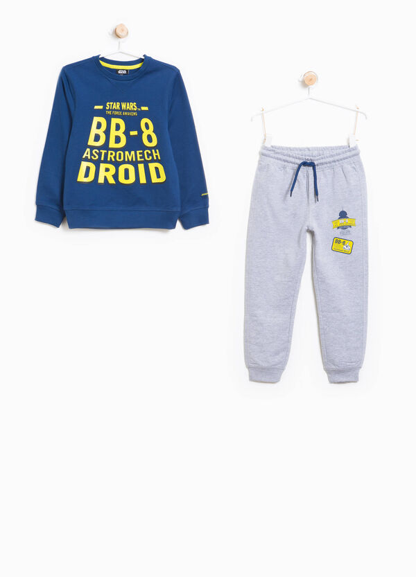 Star Wars print cotton tracksuit | OVS