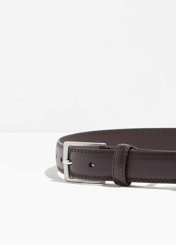 Hammered-effect belt | OVS