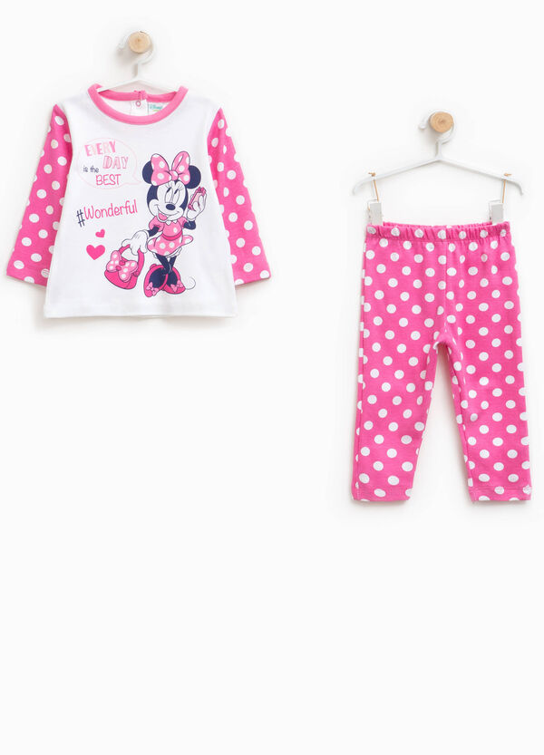 100% cotton Minnie Mouse pattern pyjamas | OVS
