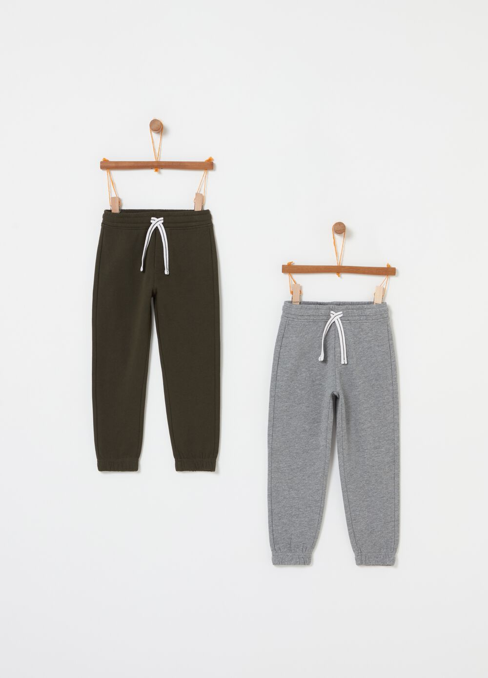 Two-pack jogger trousers