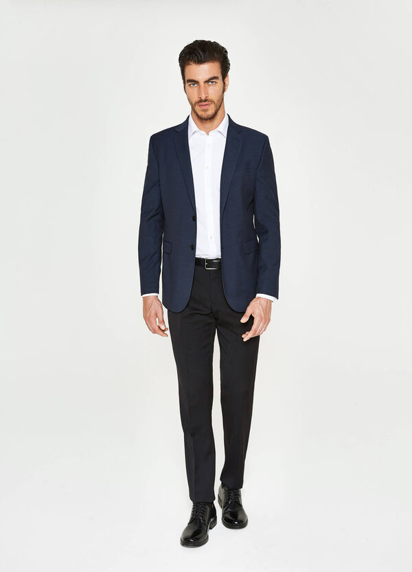 Giacca elegante regular fit in viscosa
