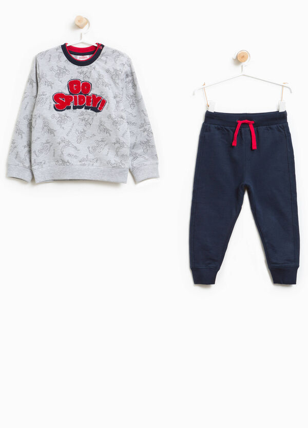 100% cotton tracksuit with Spiderman pattern | OVS