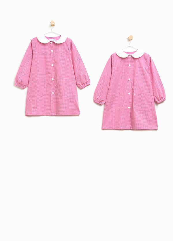 Two-pack smocks with micro-check pattern | OVS