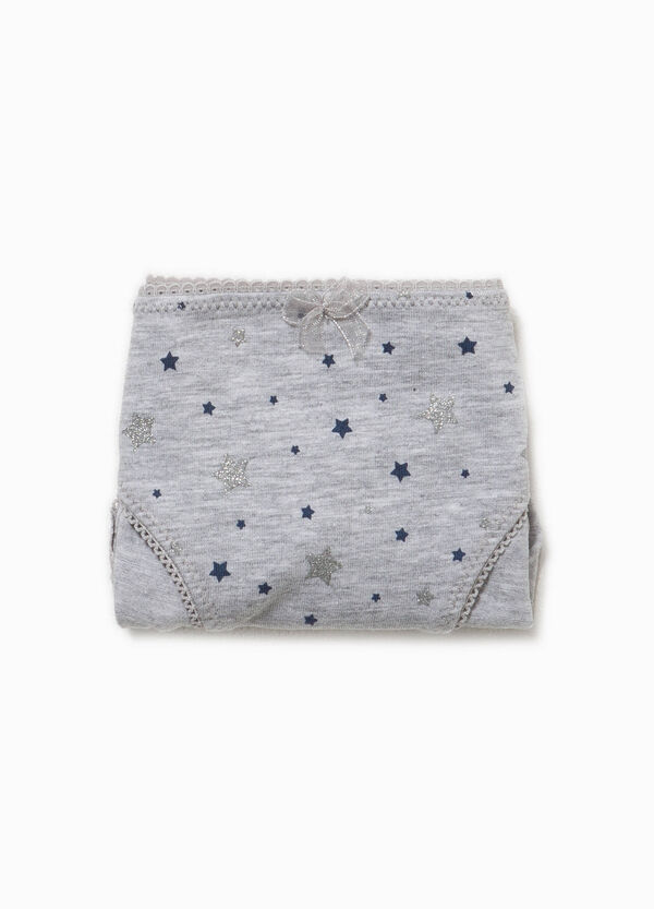 Organic cotton briefs with stars | OVS