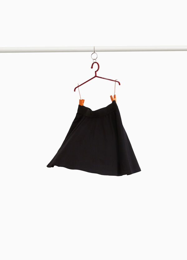 Full skirt in 100% cotton