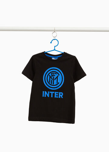 Inter print T-shirt in 100% cotton